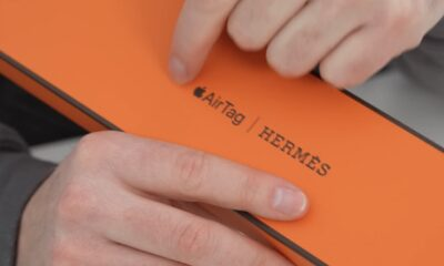 Apple Hermès Airtag Case Unboxing