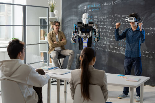 Robotics and VR Tech