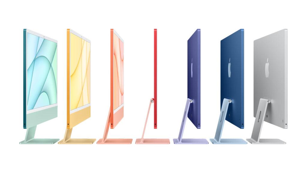 Apple New 2021 iMacs
